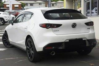 2020 Mazda 3 BP2HH6 X20 SKYACTIV-MT Astina Snowflake White Pearl 6 Speed Manual Hatchback.