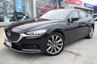 2018 Mazda 6 GL1032 Atenza SKYACTIV-Drive Black 6 Speed Sports Automatic Sedan.