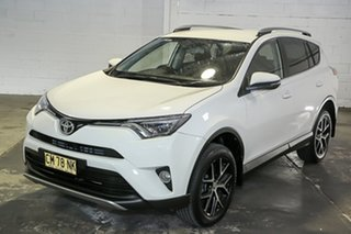 2017 Toyota RAV4 ZSA42R GXL 2WD White 7 Speed Constant Variable Wagon.
