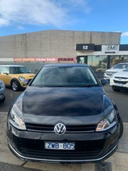2013 Volkswagen Golf AU 103 TSI Highline Black 7 Speed Auto Direct Shift Hatchback.