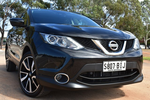 Used Nissan Qashqai J11 TI St Marys, 2015 Nissan Qashqai J11 TI Black 1 Speed Constant Variable Wagon