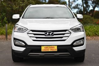 2013 Hyundai Santa Fe DM MY13 Active White 6 Speed Sports Automatic Wagon.