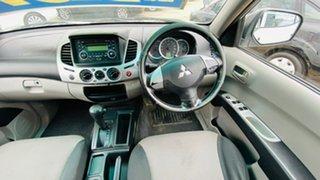 2011 Mitsubishi Triton MN MY12 GL-R Double Cab 4x2 White 4 Speed Automatic Utility