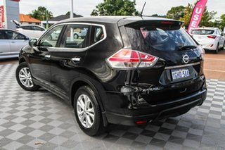 2017 Nissan X-Trail T32 ST X-tronic 2WD Black/Grey 7 Speed Constant Variable Wagon.