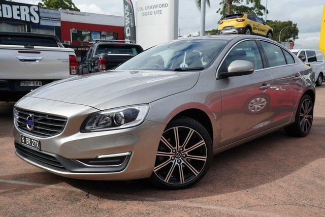 Used Volvo S60 F MY15 T5 Luxury Brookvale, 2015 Volvo S60 F MY15 T5 Luxury Gold 8 Speed Automatic Sedan