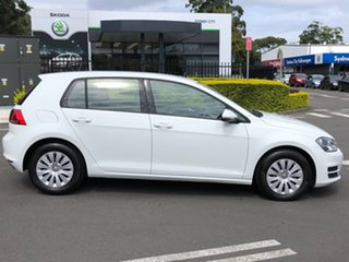 2015 Volkswagen Golf VII MY16 92TSI DSG White 7 Speed Sports Automatic Dual Clutch Hatchback.