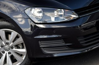 2015 Volkswagen Golf VII MY15 90TSI Comfortline Black 6 Speed Manual Hatchback
