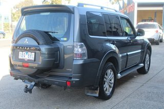 2014 Mitsubishi Pajero NW MY14 VR-X LWB (4x4) Grey 5 Speed Auto Sports Mode Wagon