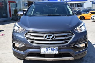 2017 Hyundai Santa Fe DM3 MY17 Highlander Blue 6 Speed Sports Automatic Wagon.
