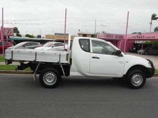 2011 Mitsubishi Triton MN GLX White 5 Speed Manual Extracab.