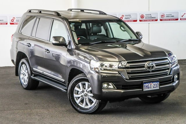 Pre-Owned Toyota Landcruiser VDJ200R Sahara Myaree, 2019 Toyota Landcruiser VDJ200R Sahara Graphite 6 Speed Sports Automatic Wagon