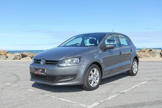 2010 Volkswagen Polo 6R MY11 66TDI Comfortline Grey 5 Speed Manual Hatchback