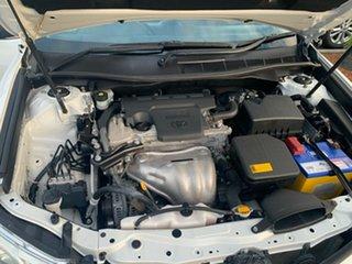2012 Toyota Camry ASV50R Atara R White 6 Speed Sports Automatic Sedan