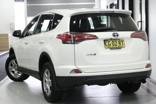 2015 Toyota RAV4 ZSA42R MY14 Upgrade GX (2WD) Glacier White Continuous Variable Wagon.