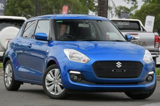 2019 Suzuki Swift AZ GL Navigator Blue 1 Speed Constant Variable Hatchback.