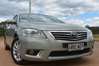 2009 Toyota Aurion GSV40R Prodigy Silver 6 Speed Sports Automatic Sedan.