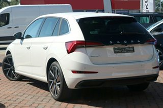 2021 Skoda Scala NW MY21 110TSI DSG Launch Edition Moon White 7 Speed Sports Automatic Dual Clutch.