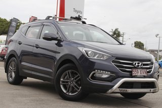 2017 Hyundai Santa Fe DM4 MY18 Active Blue 6 Speed Sports Automatic Wagon.