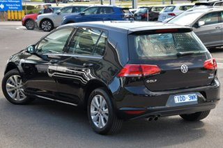 2015 Volkswagen Golf VII MY15 90TSI Comfortline Black 6 Speed Manual Hatchback.