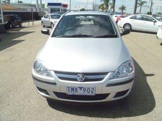 2004 Holden Barina XC MY04.5 Silver 5 Speed Manual Hatchback.