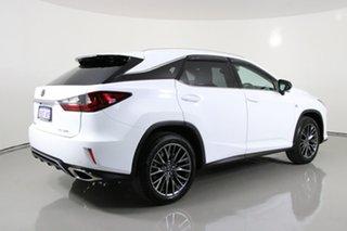 2018 Lexus RX350 GGL25R MY18 F-Sport White 8 Speed Automatic Wagon