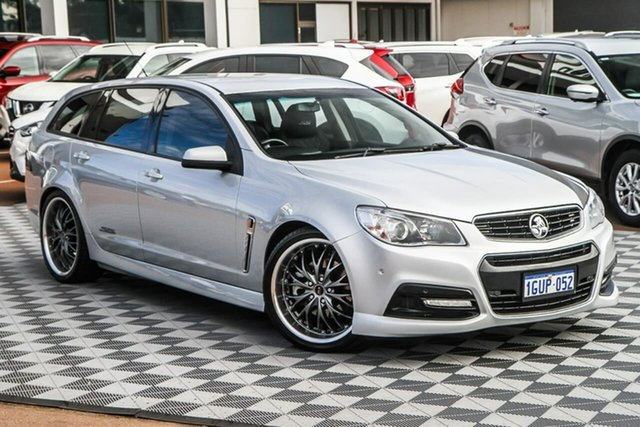 Used Holden Commodore VF MY14 SS Sportwagon Attadale, 2014 Holden Commodore VF MY14 SS Sportwagon Silver 6 Speed Sports Automatic Wagon
