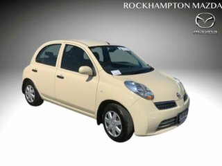 2009 Nissan Micra K12 Beige 4 Speed Automatic Hatchback