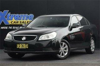 2010 Holden Epica EP MY10 CDX Black 6 Speed Sports Automatic Sedan.