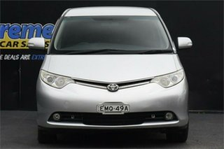 2007 Toyota Tarago ACR50R GLi Silver 4 Speed Sports Automatic Wagon.