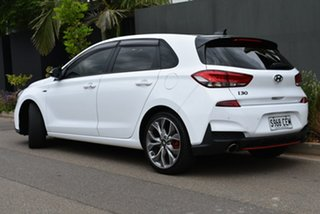 2019 Hyundai i30 PD.3 MY19 N Line D-CT Premium White 7 Speed Sports Automatic Dual Clutch Hatchback.