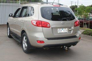 2008 Hyundai Santa Fe CM MY08 Upgrade SLX CRDi (4x4) Gold 5 Speed Automatic Wagon
