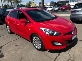 2012 Hyundai i30 GD Active Red 6 Speed Automatic Hatchback.