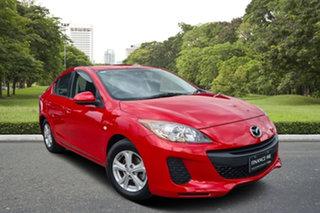 2012 Mazda 3 BL10F2 MY13 Neo Red 6 Speed Manual Sedan.