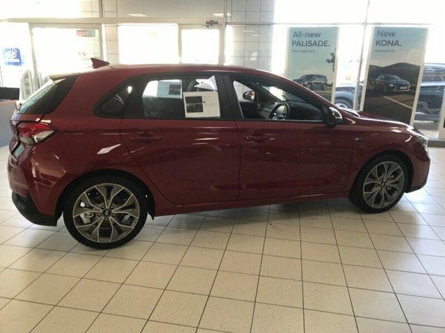 New Hyundai i30 PD.V4 MY21 N Line Melton, 2020 Hyundai i30 PD.V4 MY21 N Line Fiery Red 6 Speed Manual Hatchback