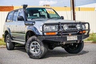 1990 Toyota Landcruiser HDJ80R GXL Silver 5 Speed Manual Wagon.