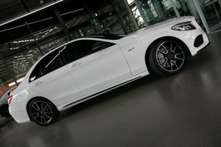 2017 Mercedes-Benz C-Class W205 807+057MY C43 AMG 9G-Tronic 4MATIC White 9 Speed Sports Automatic.