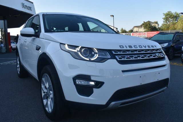 Used Land Rover Discovery Sport L550 17MY HSE Wantirna South, 2017 Land Rover Discovery Sport L550 17MY HSE White 9 Speed Sports Automatic Wagon