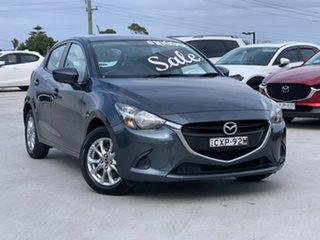 2014 Mazda 2 DJ2HA6 Maxx SKYACTIV-MT Grey 6 Speed Manual Hatchback.
