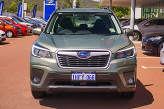 2021 Subaru Forester S5 2.5I-L Green Constant Variable SUV.