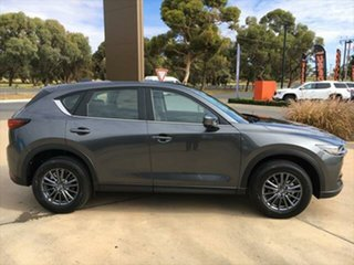 2021 Mazda CX-5 KF4WLA Touring SKYACTIV-Drive i-ACTIV AWD Machine Grey 6 Speed Sports Automatic.