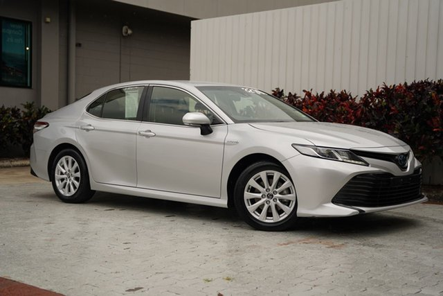 Used Toyota Camry AXVH71R Ascent Cairns, 2019 Toyota Camry AXVH71R Ascent Silver 6 Speed Constant Variable Sedan Hybrid