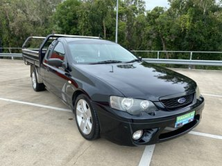 2005 Ford Falcon BF XL Black 5 Speed Manual Cab Chassis.