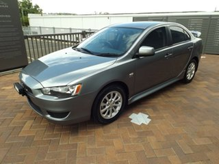 2011 Mitsubishi Lancer CJ MY12 Platinum Silver 5 Speed Manual Sedan