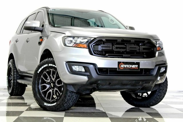 Used Ford Everest UA MY18 Ambiente (RWD 7 Seat) Burleigh Heads, 2017 Ford Everest UA MY18 Ambiente (RWD 7 Seat) Grey 6 Speed Automatic SUV