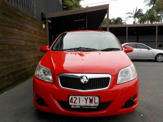 2009 Holden Barina TK MY10 Red 4 Speed Automatic Hatchback