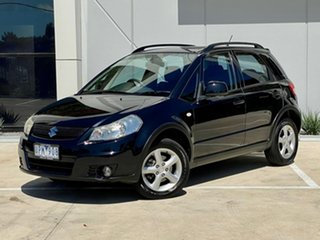 2007 Suzuki SX4 GYB Black 5 Speed Manual Hatchback.