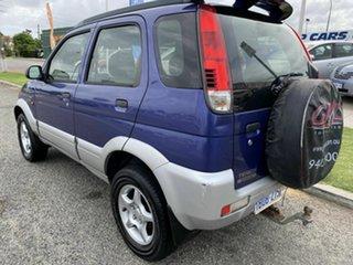 2003 Daihatsu Terios SX (4x4) Green 5 Speed Manual 4x4 Wagon.