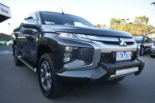 2019 Mitsubishi Triton MR MY19 GLS Double Cab Premium Grey 6 Speed Sports Automatic Utility.