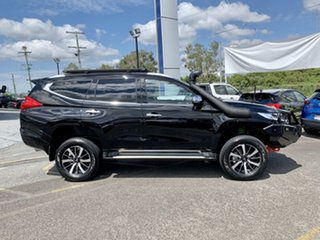 2018 Mitsubishi Pajero Sport QE MY19 Exceed Black 8 Speed Sports Automatic Wagon.