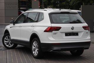 2020 Volkswagen Tiguan 5N MY20 110TSI Comfortline DSG 2WD Allspace Pure White 6 Speed.